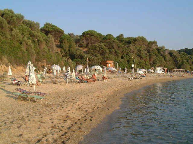 Skiathos Beach.