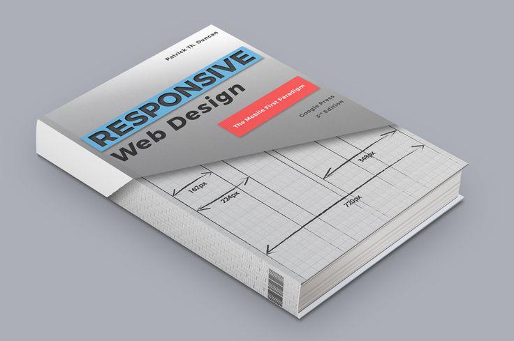 web design könyv mockup
