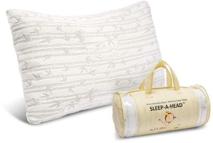 Clara Clark Memory Foam Pillow In 2020 Memory Foam Pillow Foam Pillows Gel Pillow