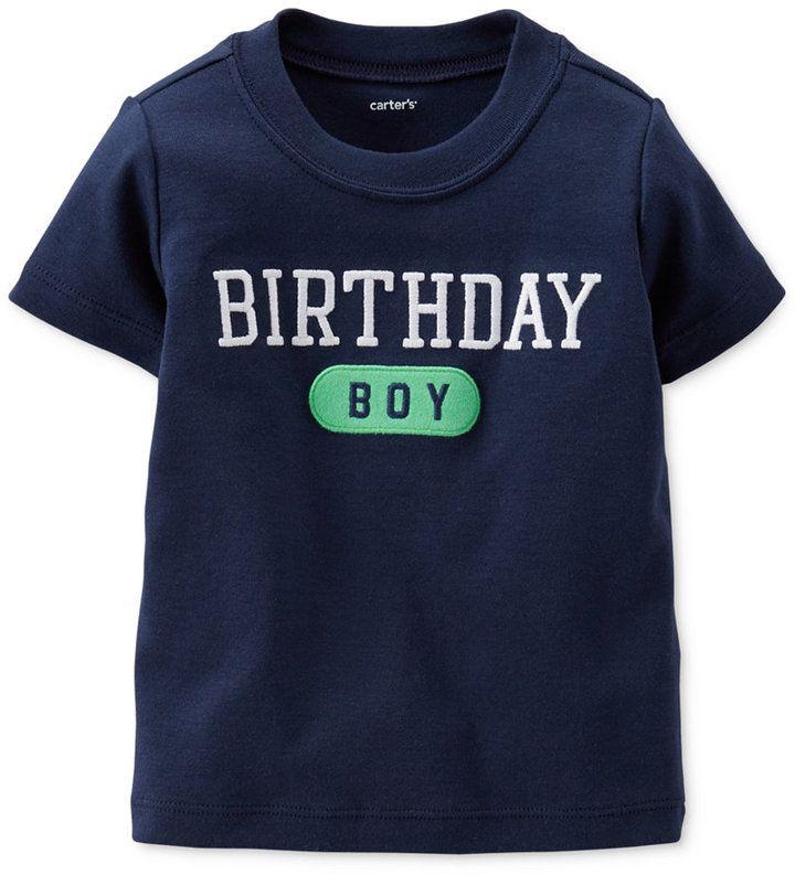 Carter's Baby Boys' Birthday Tee
