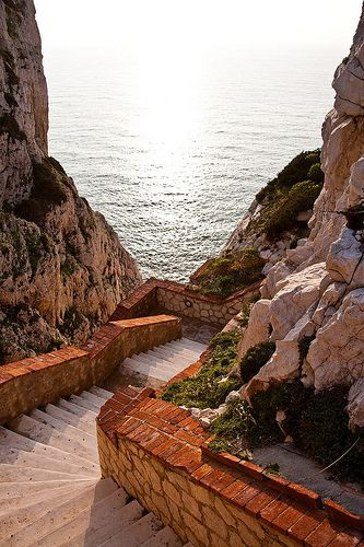 Steps to The Sea - Sardinia, Italy