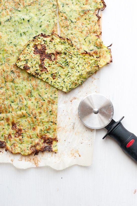 Paleo Zucchini Flatbread   A grain-free, dairy-free alternative to flatbread or lavash!