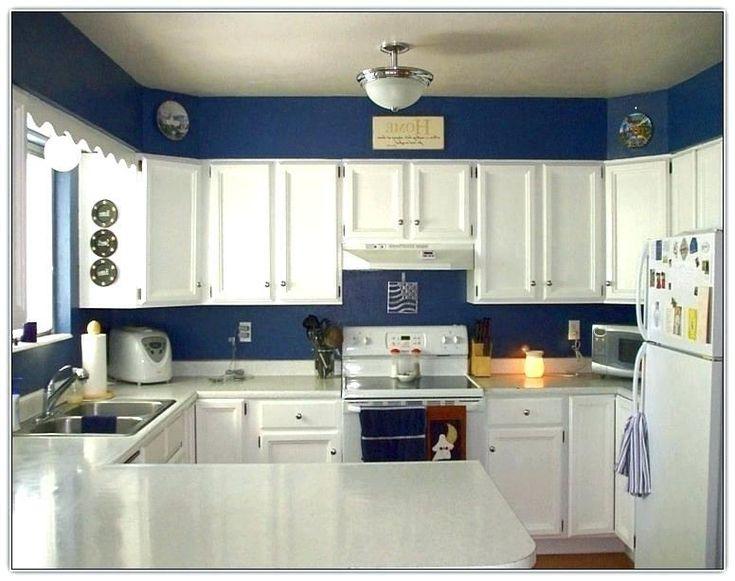 53 Blue Kitchen Walls | Blue kitchen walls, Navy kitchen ...