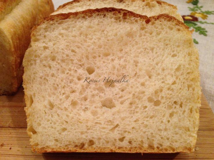 Egyszerű burgonyás kenyér recept, kézzel dagasztva, finom, puha bélzetű, recept fázisfotókkal, Kocsis Hajnalka receptje