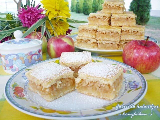 Finom almás lepény - családom szerint a világ legfinomabb almása :)