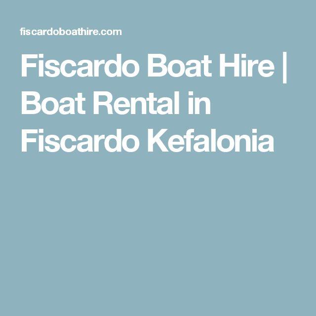 Fiscardo Boat Hire | Boat Rental in Fiscardo Kefalonia