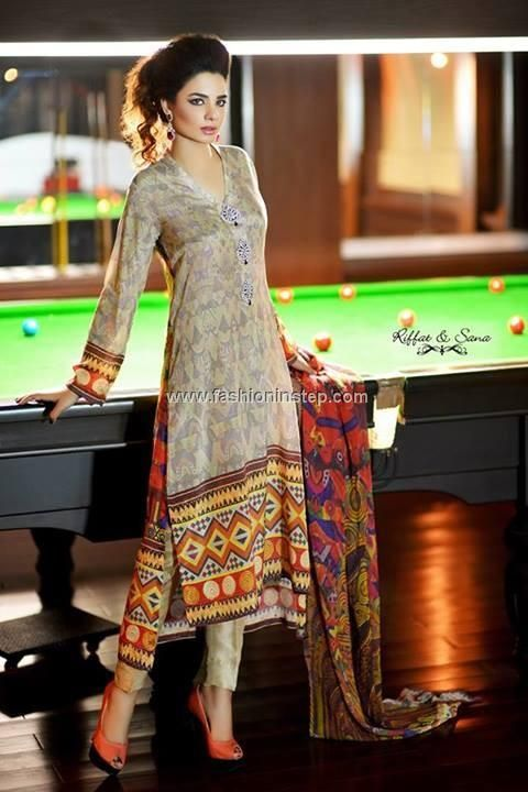 Riffat and Sana Eid Collection 2013 for Women 002