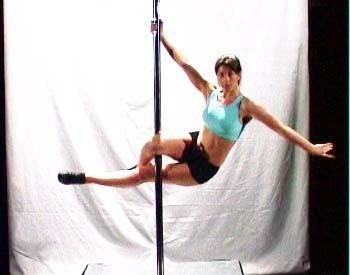 pole dance les angles