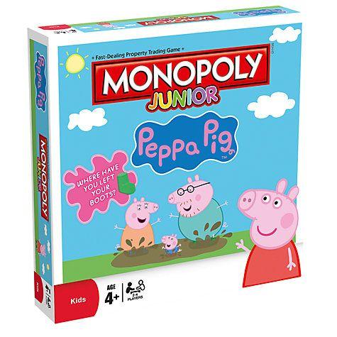 Buy Monopoly Junior Peppa Pig Board Game Online at johnlewis.com