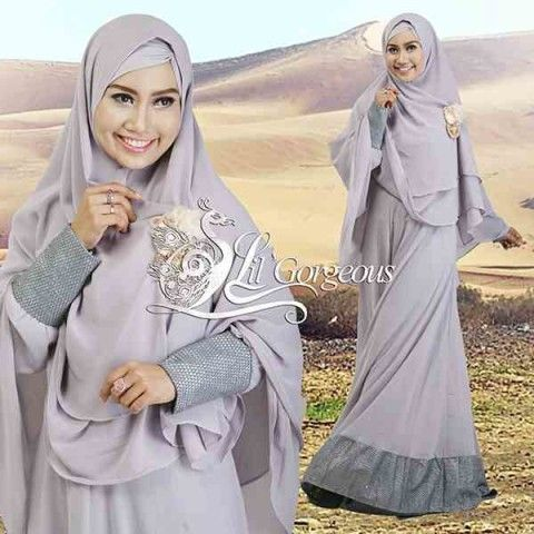 Model Terbaru Busana Muslim Syar I Snow Dress Syar I By Lil Gorgeous