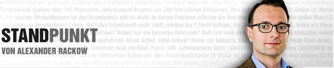 Alexander Rackow: Weg mit dem Arbeitsverbot für Flüchtlinge! - Deutschland braucht dringend Fachkräfte. Ärzte, Ingenieure und Pflegepersonal gibt es viel zu wenig.  Doch statt entsprechend qualifizierten Flüchtlingen möglichst schnell unsere Sprache beizubringen, stecken wir sie in Lager!  Statt ihnen schnell die Möglichkeit zu geben, selbst für ihr Dasein zu sorgen, verbieten wir ihnen zu arbeiten und machen sie künstlich vom Staat abhängig!  Dieser Irrsinn kostet uns jedes Jahr Hunderte…
