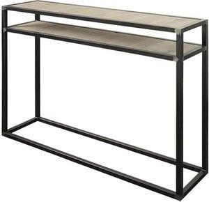 Wandtafel Artisinaal metaal met eiken hout is een strakke eigentijdse console tafel. De tafel is ambachtelijk vervaardigd van stoere en pure materialen. Het stalen frame is zwart gelast en op de hoeken doorgeschuurd voor een industrieel effect. Het ingelegde blad is gemaakt van gelamineerd eiken hout en blank afgelakt. De collectie Artisinaal bestaat uit verschillende afmetingenen salontafels, bijzettafels, een zuil en een wandtafel. Hierdoor kun je de tafels mooi combineren en in…