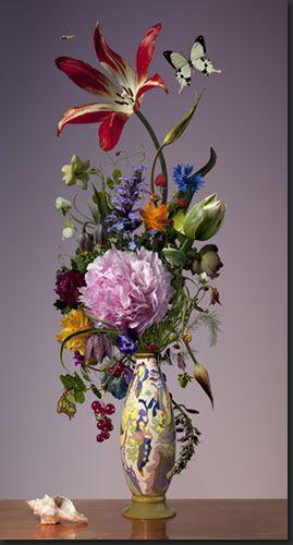 Bas Meeuws - çağdaş hollanda çiçek still life fotoğrafçılığı