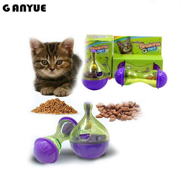 Ganyue Pet Cat Interactive Toy IQ Training Food Ball Cats Feeding Toys Ball Cat Smarter Tumbler Food Toys Kitten Playing Toy. Yesterday's price: US $4.98 (4.07 EUR). Today's price: US $4.98 (4.07 EUR). Discount: 57%.