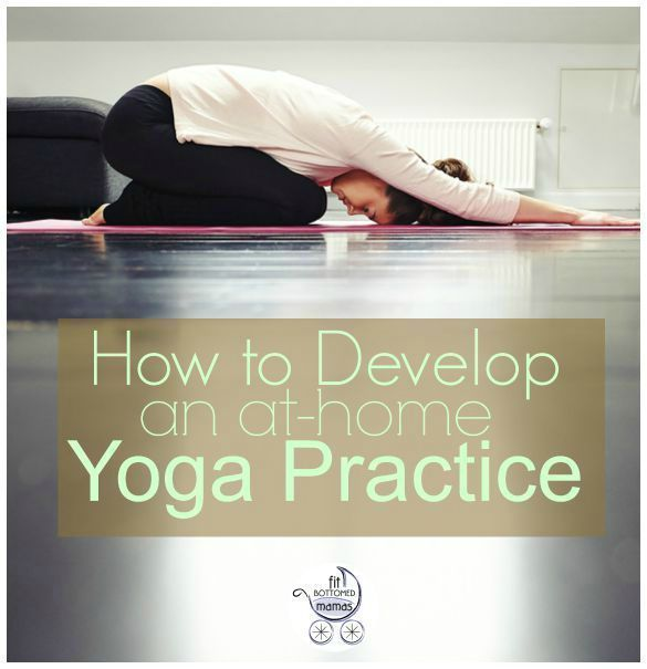 Yoga at home is possible, even with kids and chaos! | Fit Bottomed Mamas