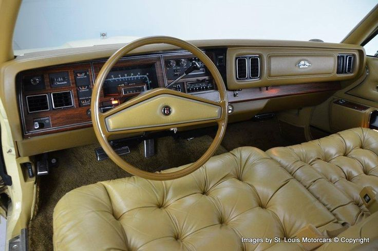 Classic Ford Trucks For Sale >> 1977 Chrysler New Yorker Brougham in Jasmine Yellow. (With images) | Luxury car interior, Retro ...