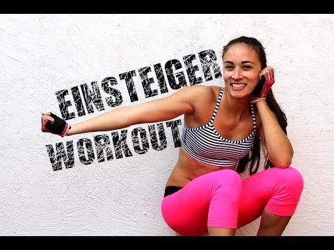 Workout für Einsteiger / Anfänger #2 - Training zuhause - Flacher Bauch - Schlanke straffe Figur - YouTube