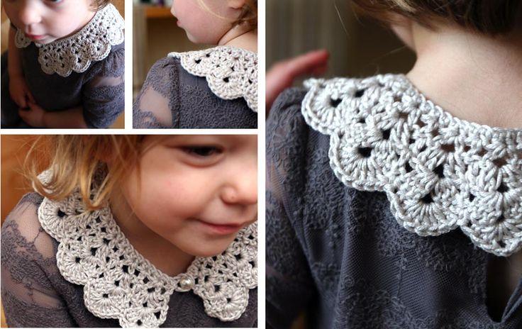 Como hacer un hermoso cuello a crochet - GanchilloGanchillo