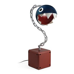 From Nintendo's Mario game franchise comes this Chomp Desk Lamp. Think Geek does it again!