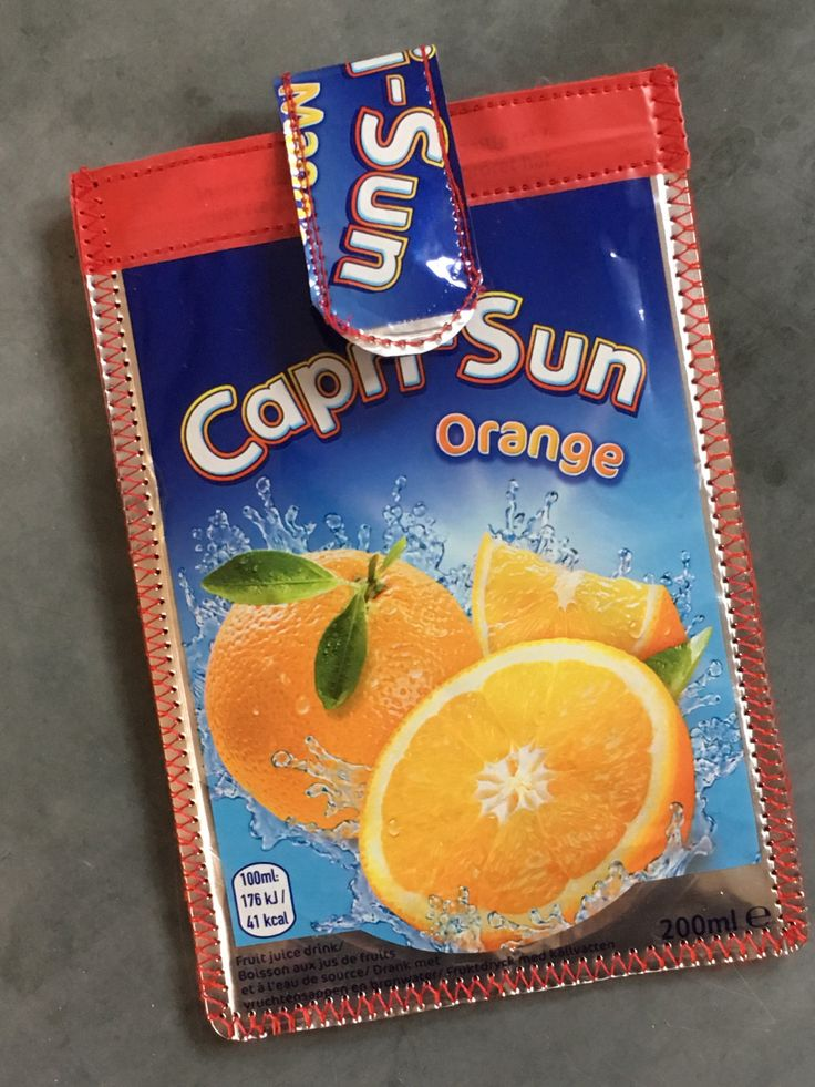 Capri Sun phonecase, Cool Cellphone sleeve, Quirky phone cover, Padded iPhone pouch, iPod Touch case, Samsung cell case, Cool upcycled gifts by ShabbySheUK on Etsy