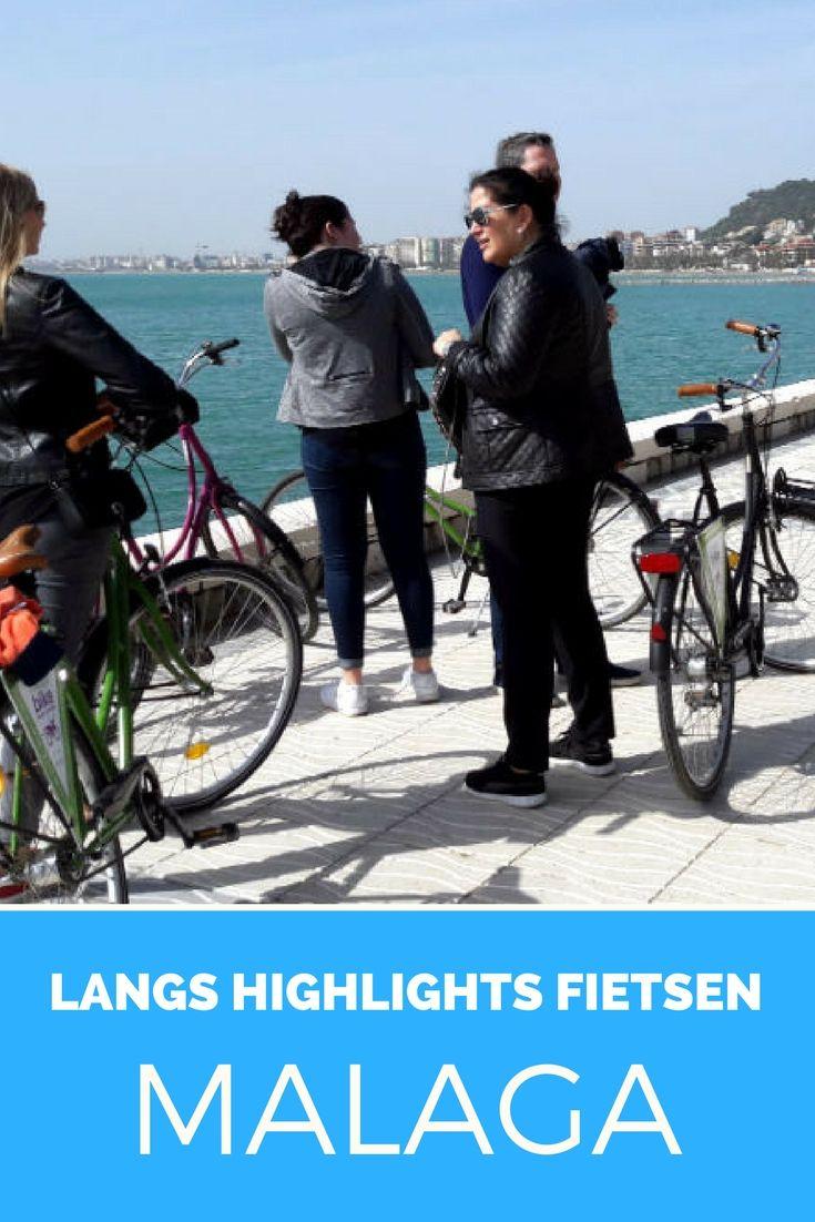 Fietsen in Malaga, Spanje. Wil je de highlights van Malaga niet missen? Stap op de fiets.