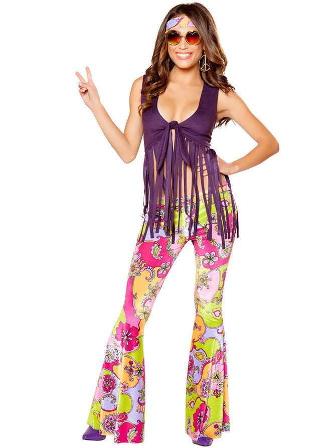 Women's Sexy Hippie Lover Costume - Wholesale Decades Costumes for Adults