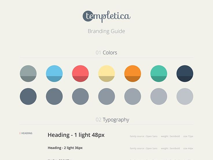 Style Guides By Pro Designers