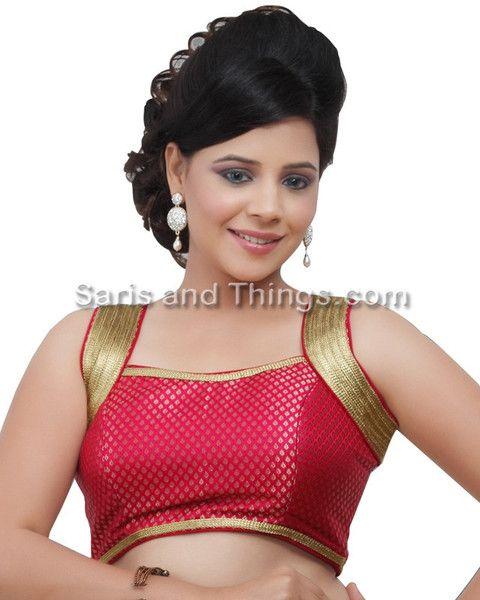 Rani Brocade Readymade Partywear Sari Blouse X-108 NS | Saris and Things