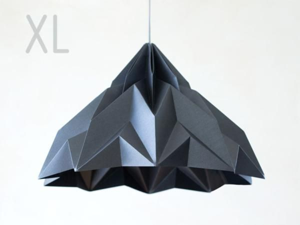 MAKE A WISH XL /// origami-lampshade by werkdepot