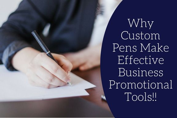 A Few Reasons why Custom Pens make effective Business Promotional tools! #promotionalproduct #giveaways #blog #custompens #business #effective