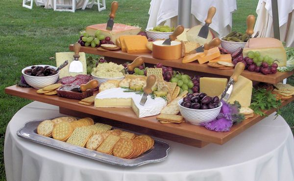 mmmmm.... Cheese! Beautiful display for a party.