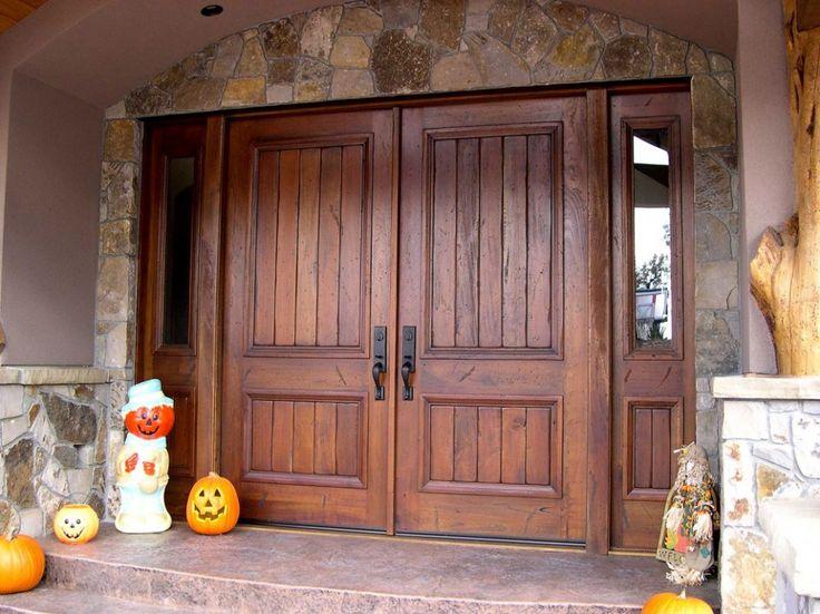 Best 25 Rustic Front Doors Ideas On Pinterest