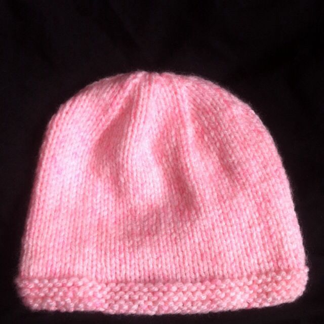 My first made baby hat.