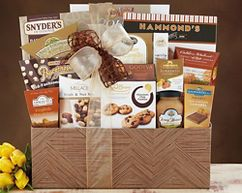 For over 30 years, Van's Gifts has been delivering gourmet gift baskets to valued clients, customers, friends and family. We offer FREE SHIPPING on all of our gift baskets with no minimum purchase required. Shop our large selection of Corporate Gift Baskets, Holiday Gift Baskets, Wine Gift Baskets, Gift Towers, Anniversary Gift Baskets, Birthday Gift Baskets, Christmas Gift Baskets and really gift baskets for most every occasion. We work hard to make your gift buying as easy as possible.