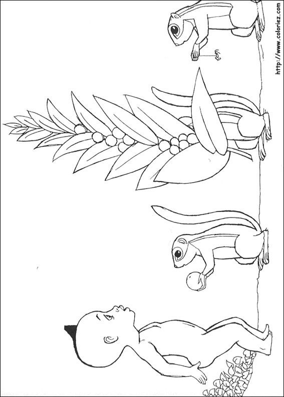 kirikou coloring pages - photo#10