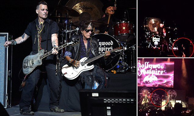 Legendary Aerosmith guitarist Joe Perry, 65, collapses on stage #DailyMail | These are some of the stories. See the rest @ http://twodaysnewstand.weebly.com/mail-onlinecom or Video's @ http://www.dailymail.co.uk/video/index.html
