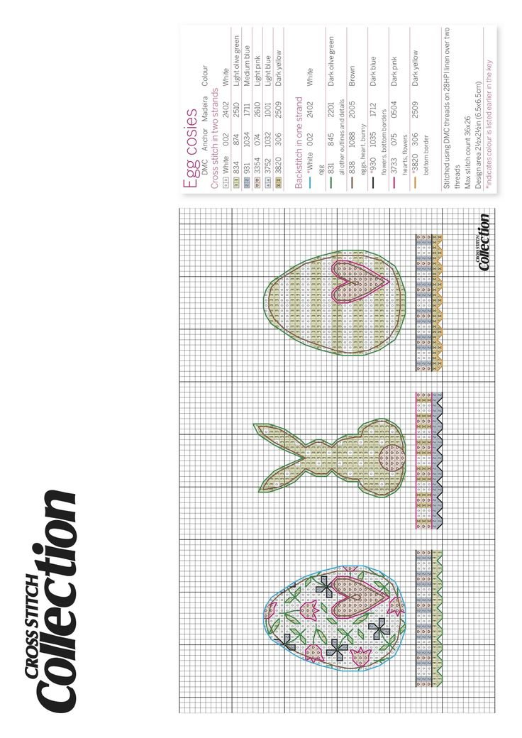 Easter cross-stitch