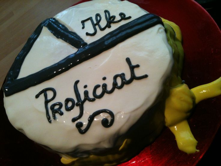 Tkd cake gele band