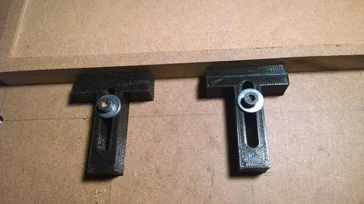 'T' Holddown Clamps by Thingiverse