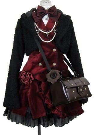 Gothic Lolita Outfit! (0u0)/ *gasps* reaaaaallllyyy cooooollll!!!!                                                                                                                                                                                 More