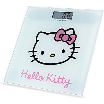 Sconto 35%. Bilancia Pesapersone Hello Kitty