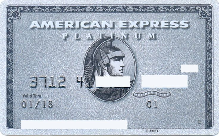 American Express Platinum US 371241 (American Express, United States of America) Col:US-AE-0147