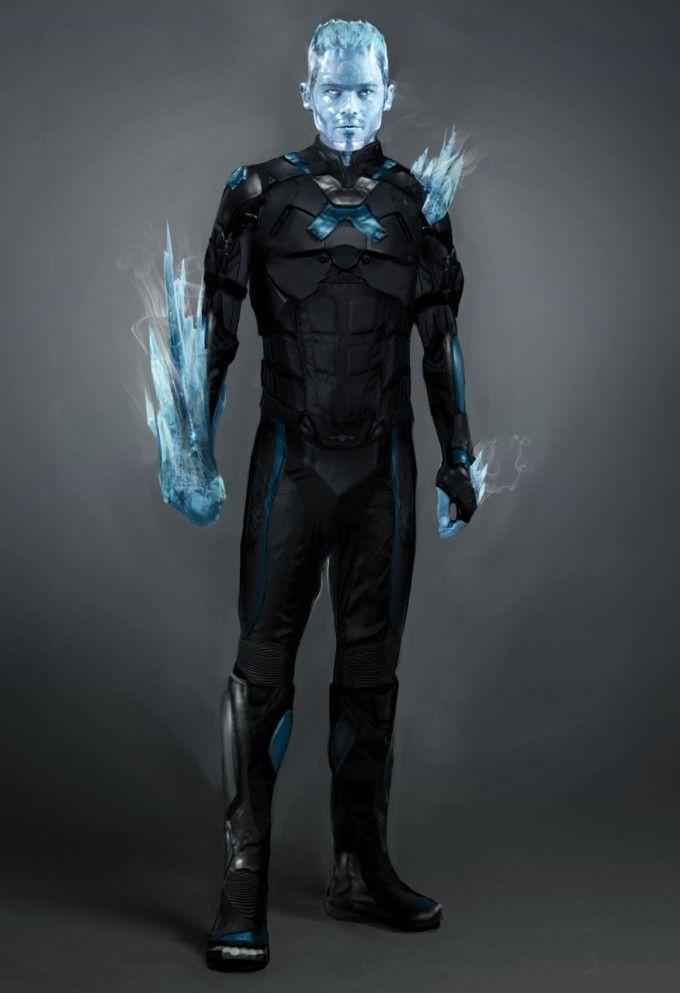 Iceman concept art