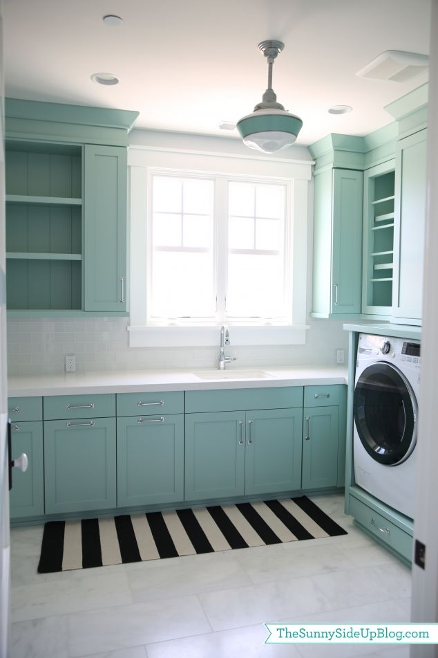 Home Tour Teal Laundry Roomslaundry Room