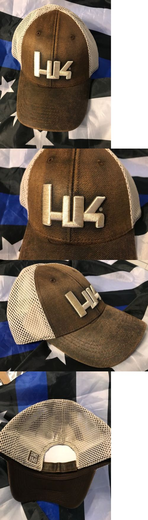 Hats and Headwear 159035: Heckler Koch Brown Hk Mesh Cap Hat Embroider Hk P7 Psp P7m8 P30 Usp Mark23 Vp9 -> BUY IT NOW ONLY: $32.95 on eBay!