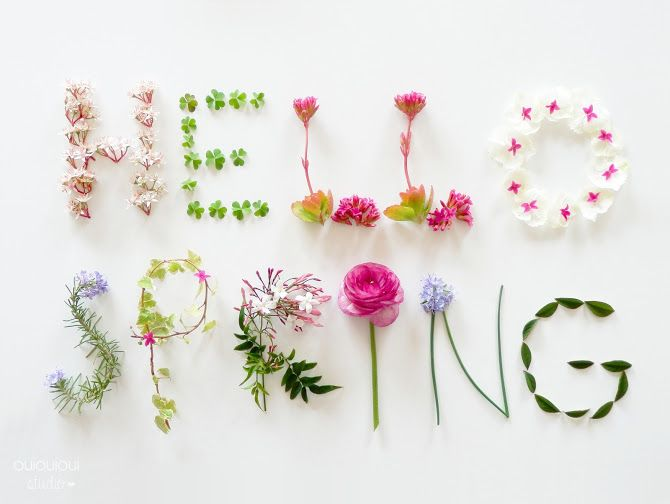 ♥ HELLO SPRING ♥ // INSPIRATION DÉCO