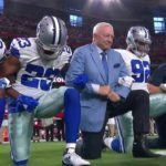 JERRY JONES, COWBOYS TAKE KNEE