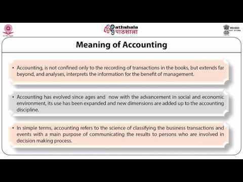 NRK ACADEMY: ACCOUNTING AND FINANCIAL ANALYSIS-DEFINITION, OBJE...