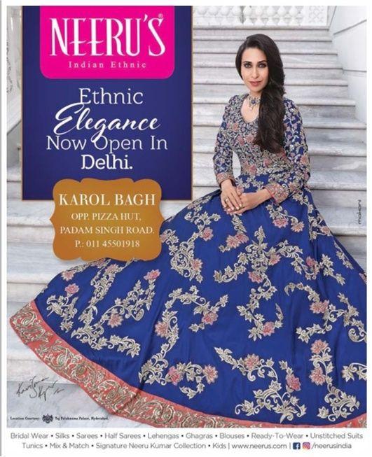 neerus-indian-ethnic-ad-delhi-times-10-6-2017   Apparel