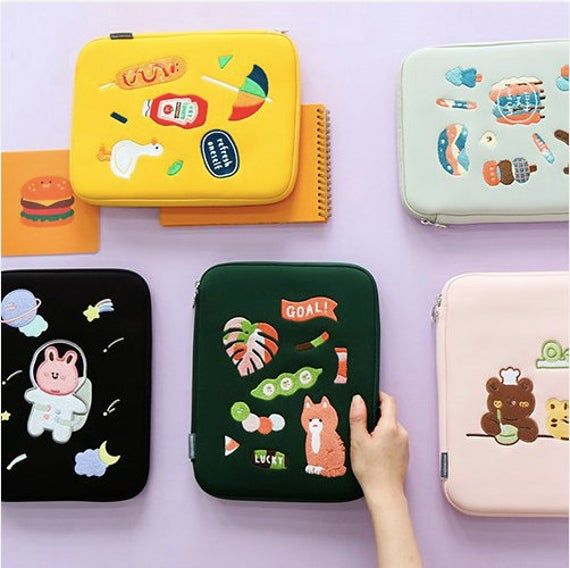 11 ipad tablet pouch tablet pouch laptop cover 11 etsy in 2021 tablet pouch ipad pouch ipad pro case